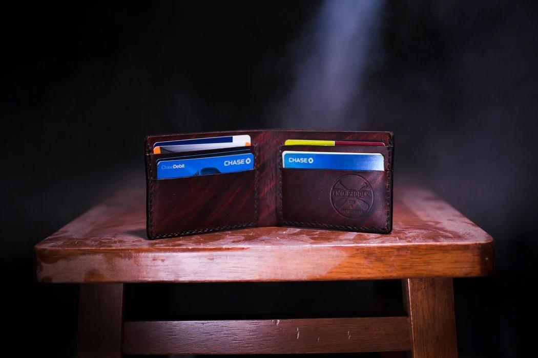 cartões de crédito em carteira
