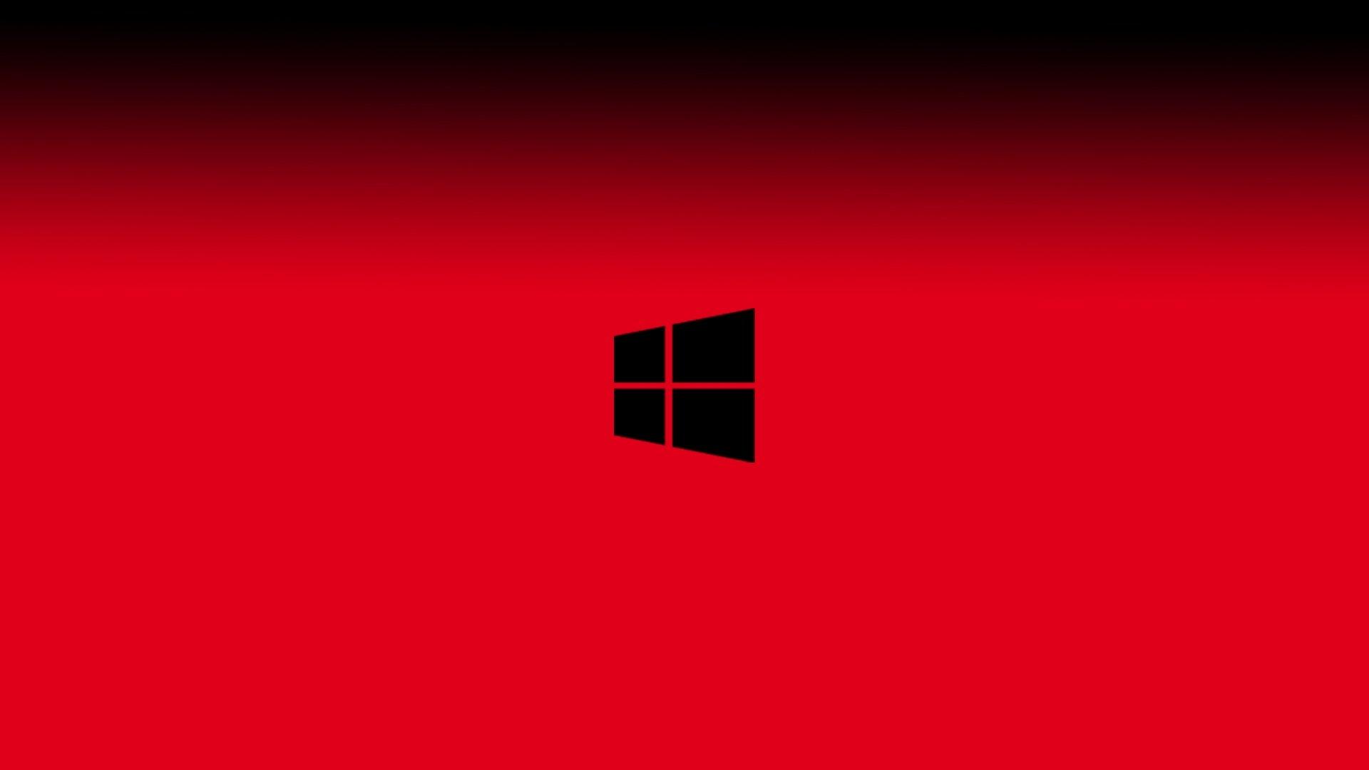 Windows vermelho