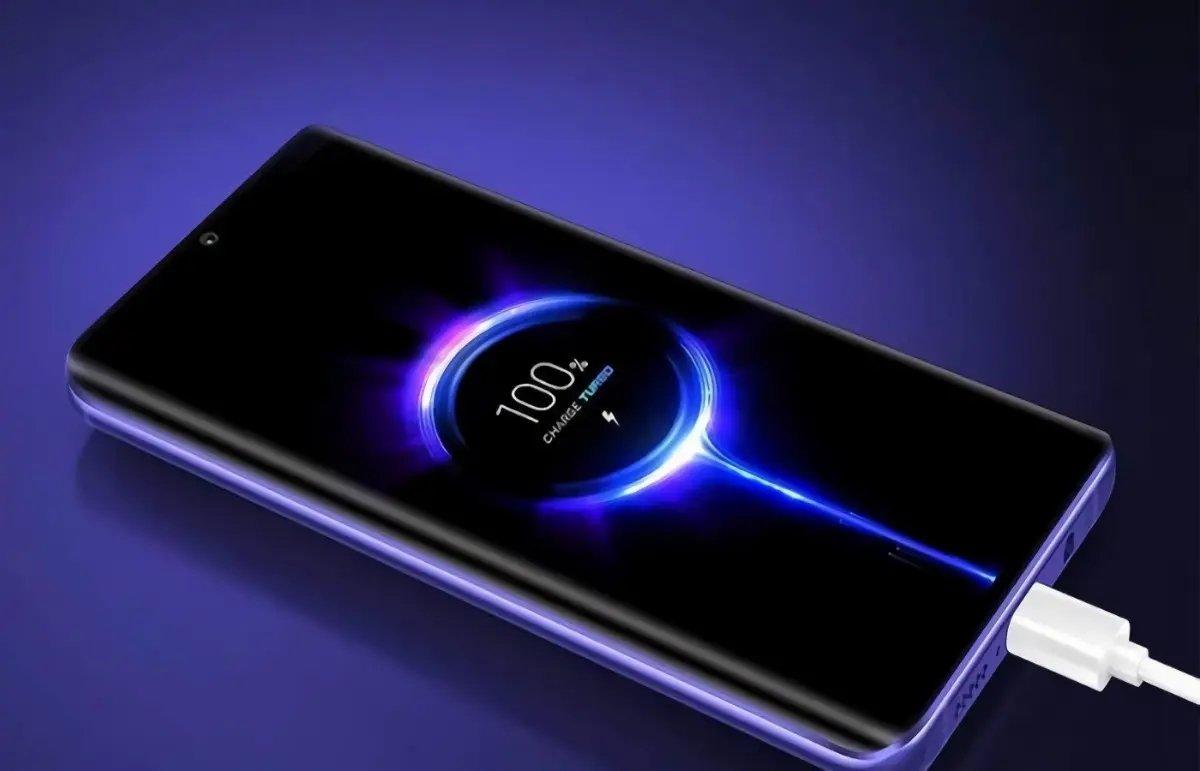Xiaomi smartphone em carregamento