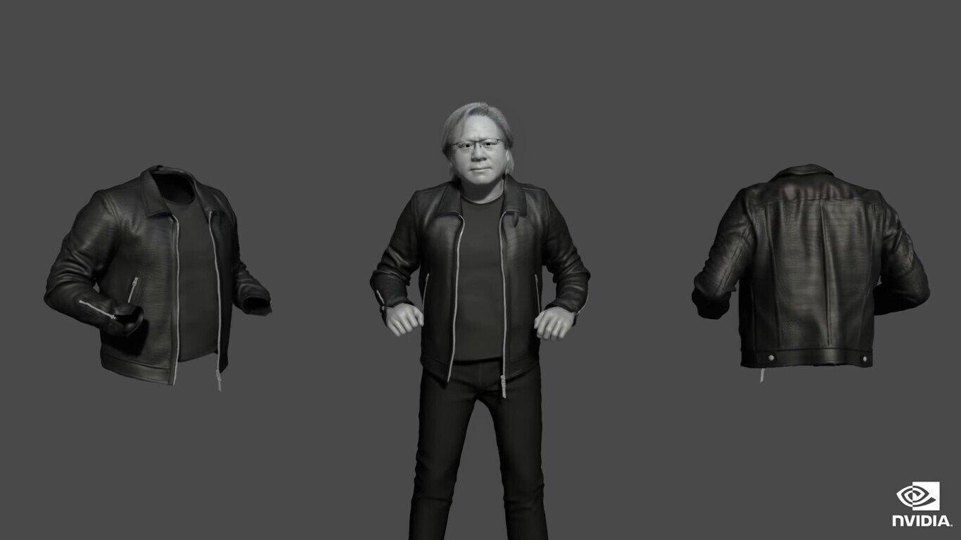 Nvidia CEO falso