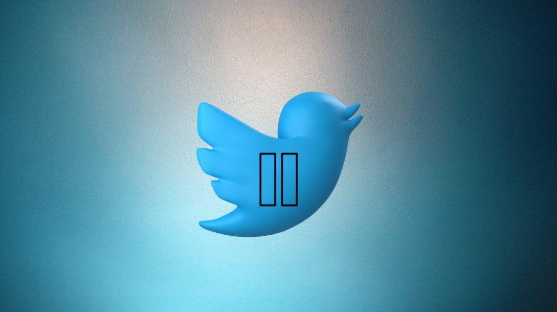 Twitter em pausa