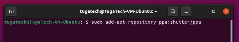 terminal do ubuntu