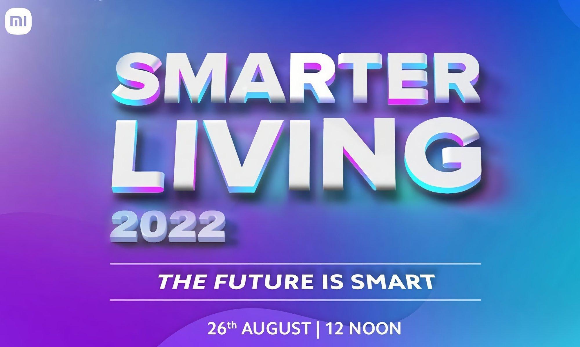 Xiaomi evento Smarter living 2022