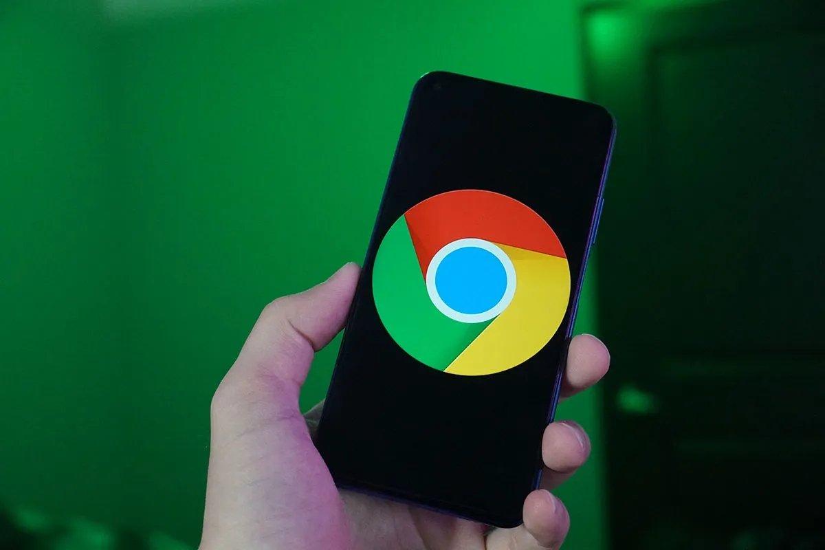 Google chrome em smartphone