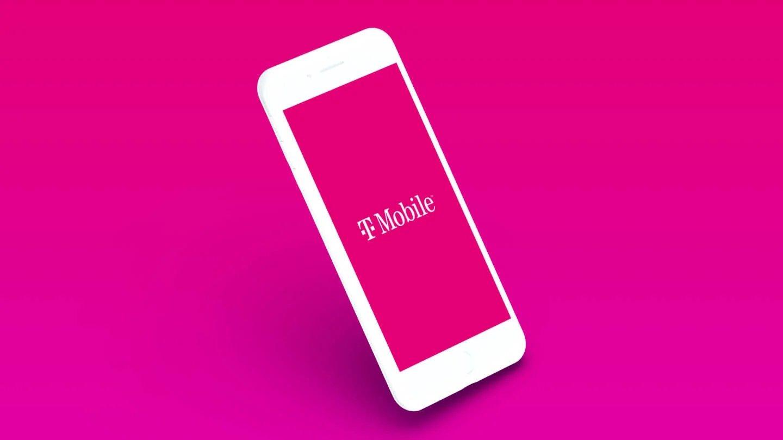 T-Mobile logo em smartphone