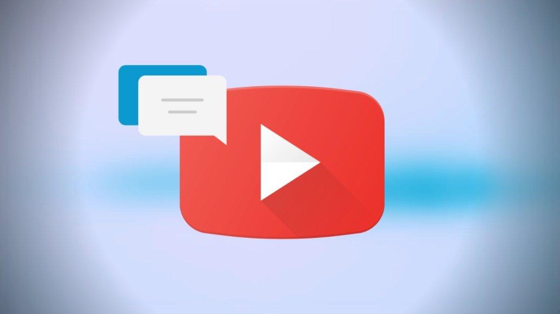 YouTube comentários