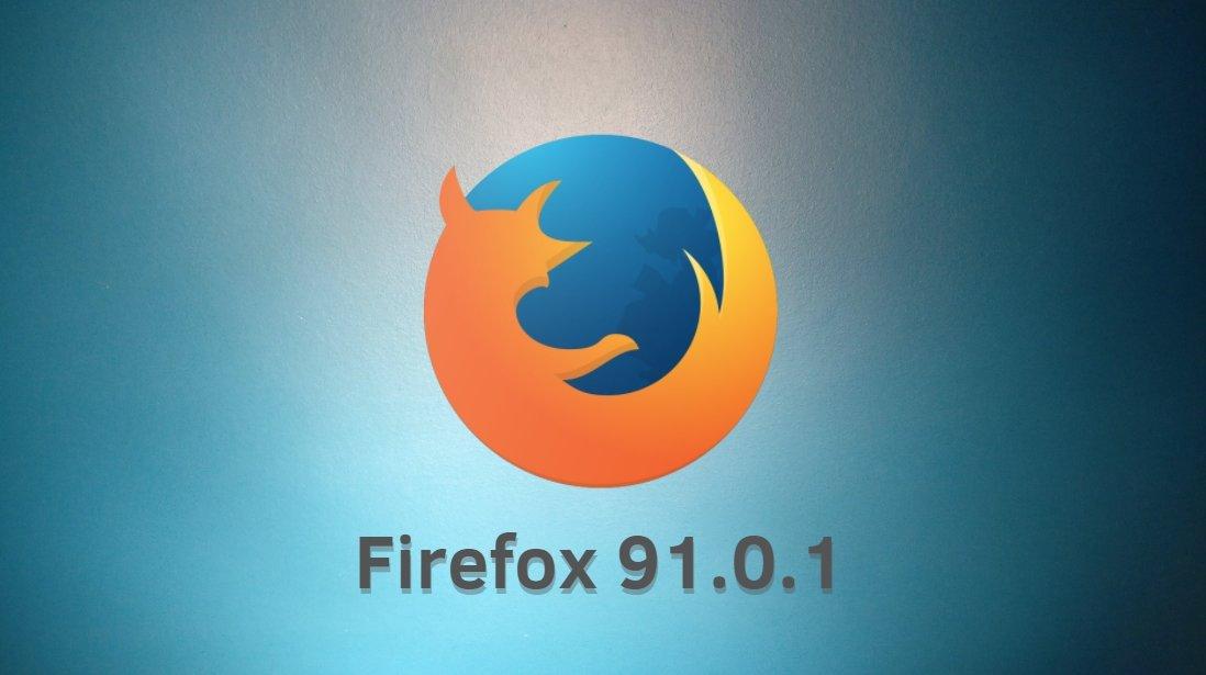 Firefox 91.0.1