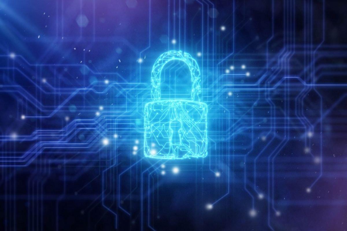 Cadeado de segurança digital