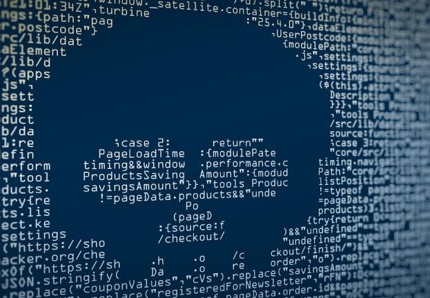 Código de malware no sistema