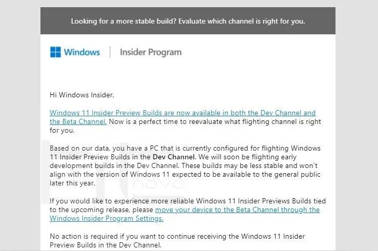 Microsoft-Warnung vom Insider-Entwicklerkanal