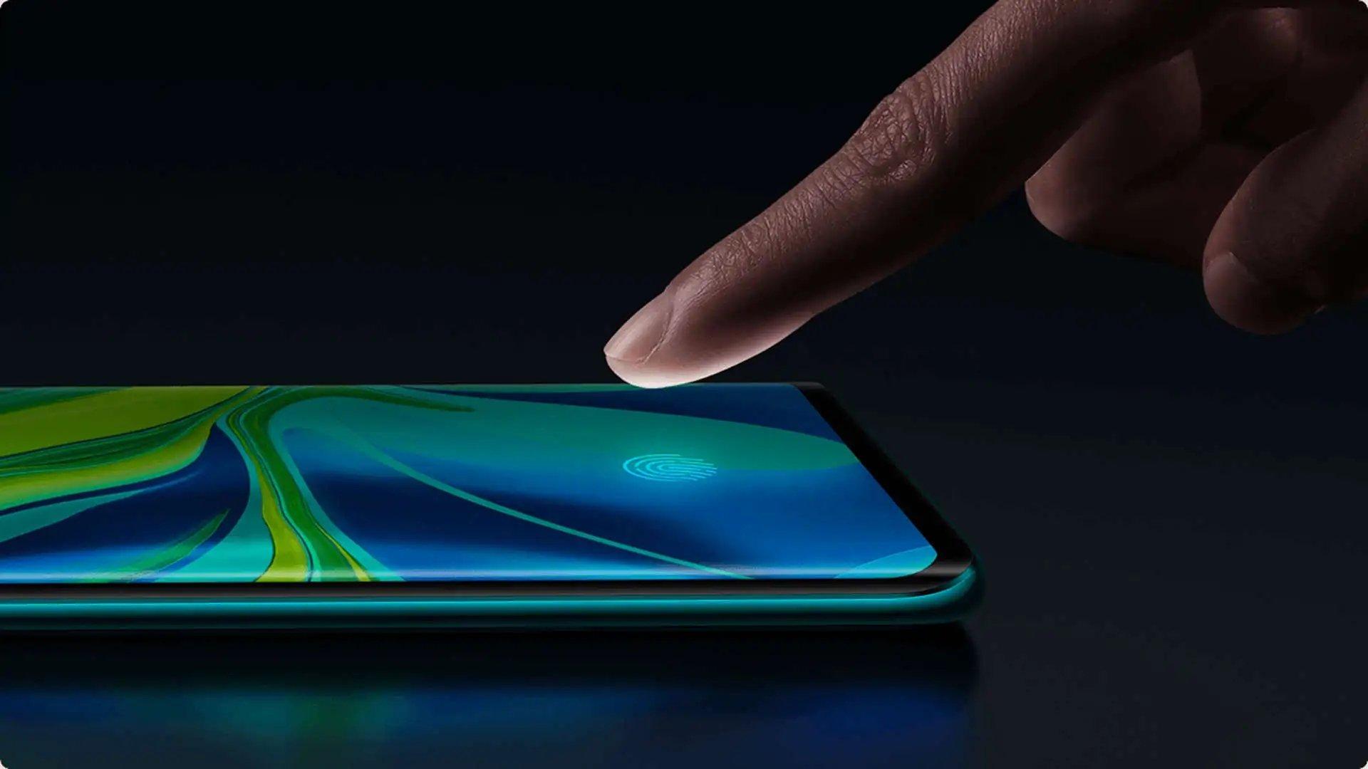 Xiaomi sensor de leitura de impressão digital