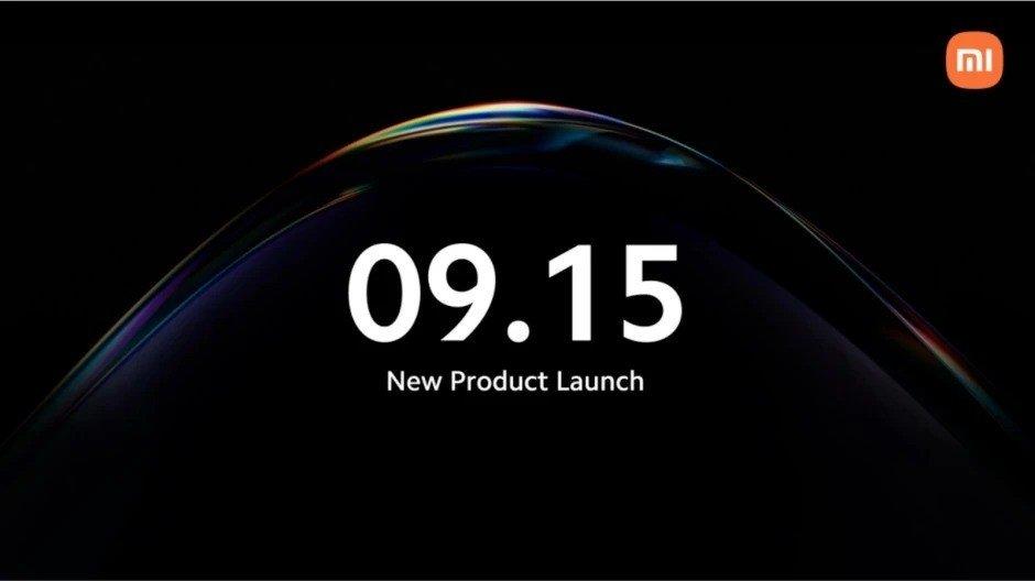 Xiaomi evento em setembro