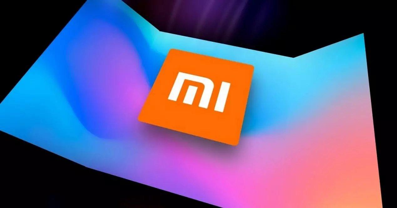 Xiaomi logo sobre caixa