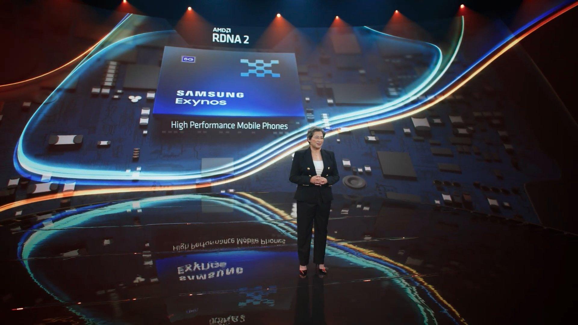 Chip da Samsung com apoio da AMD
