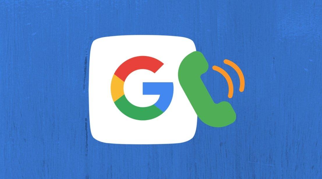 App da Google com chamadas