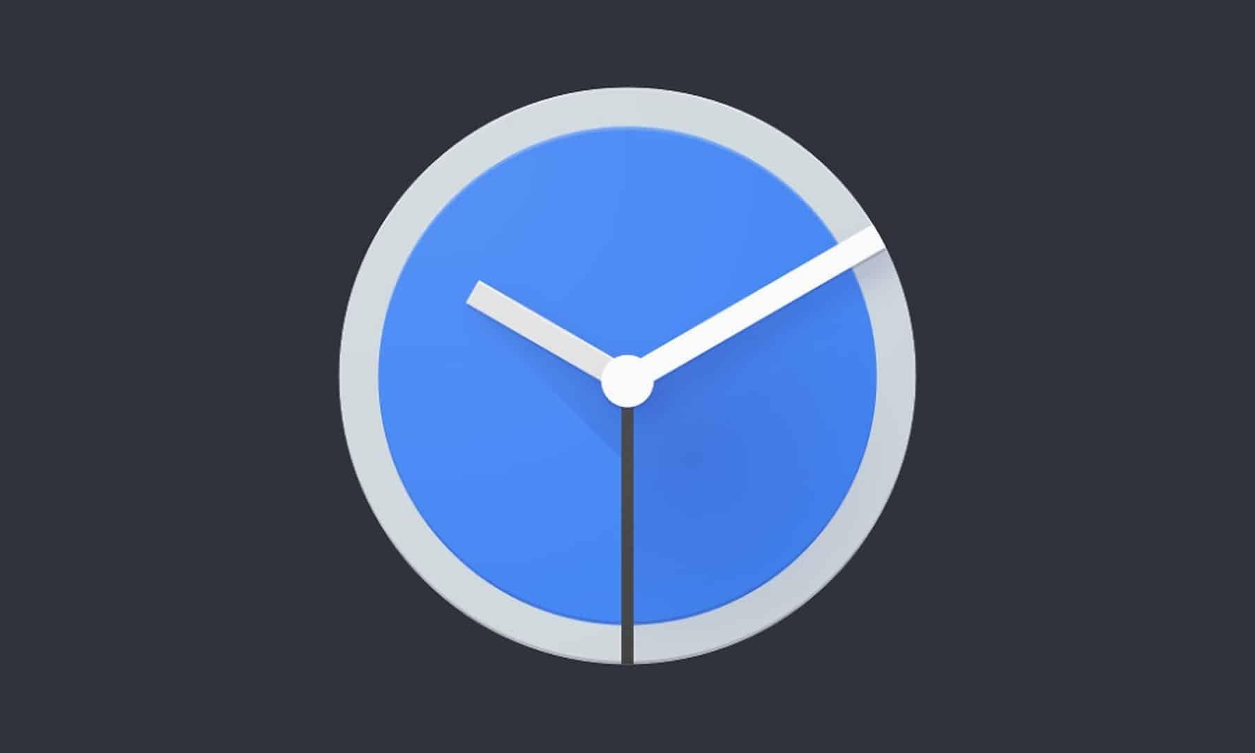 Google relógio app