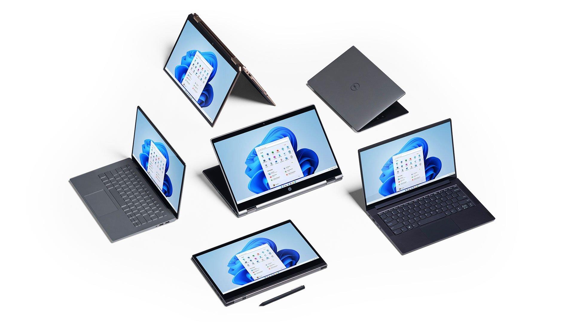 Windows 11 computadores da Microsoft