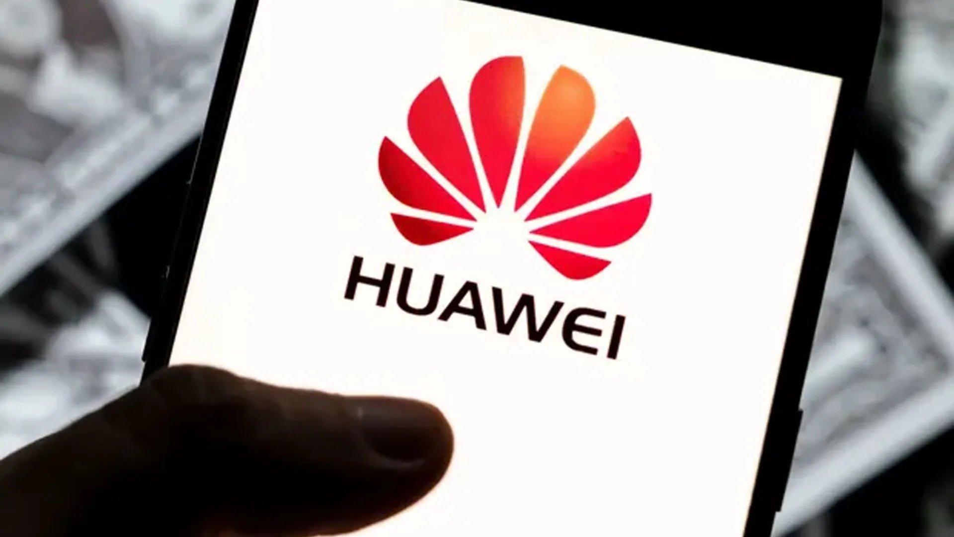 Logo da huawei em smartphone