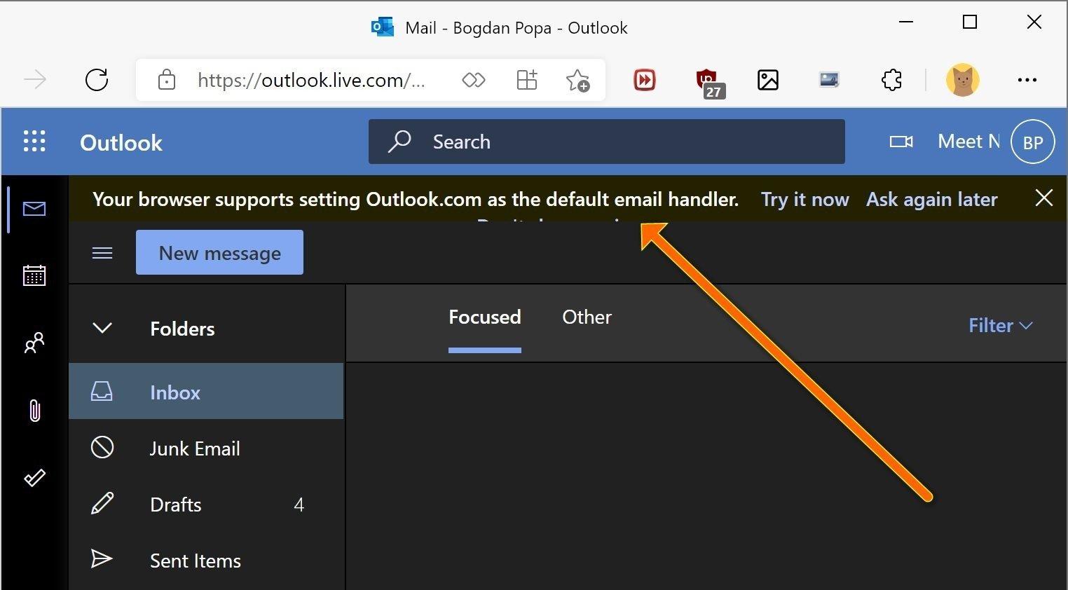 Windows 11 link de abertura