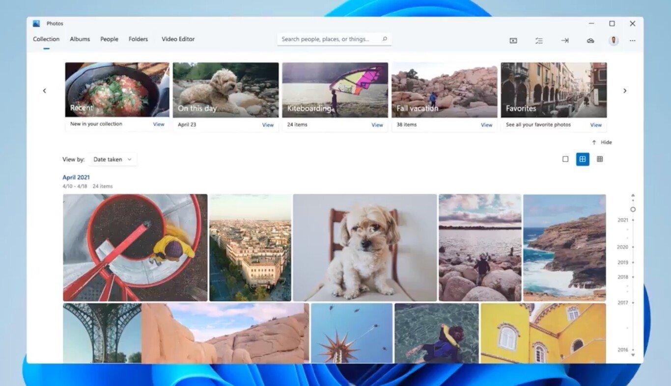 App de fotos windows 11