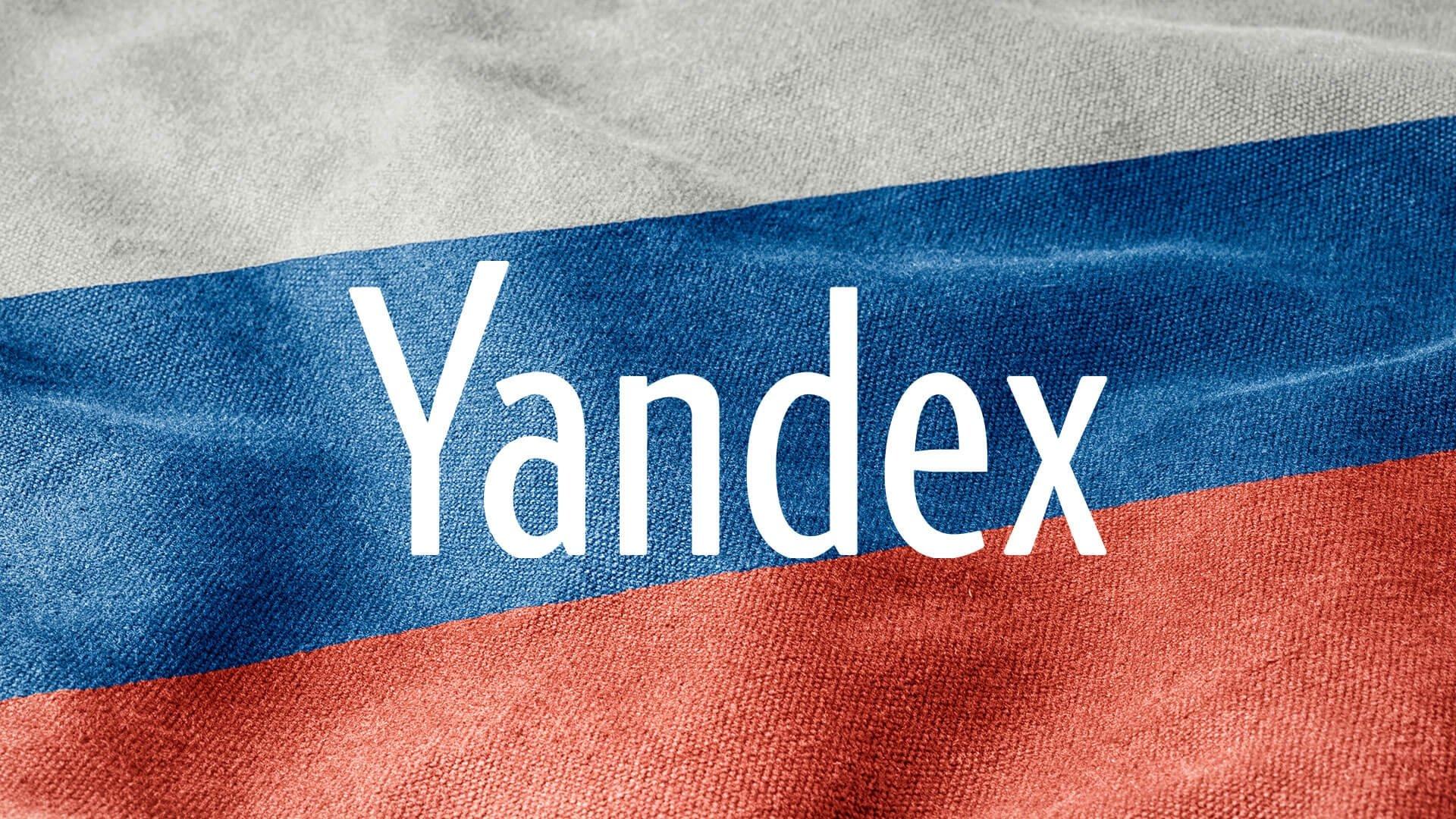 yandex bandeira da russia