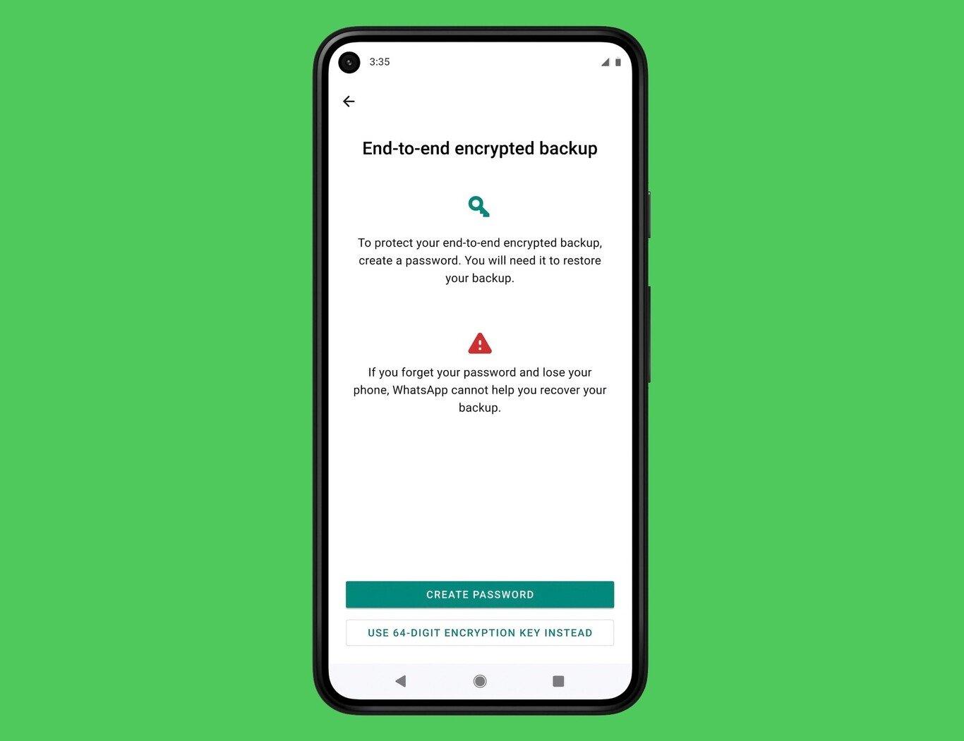 WhatsApp encriptação ponta a ponta