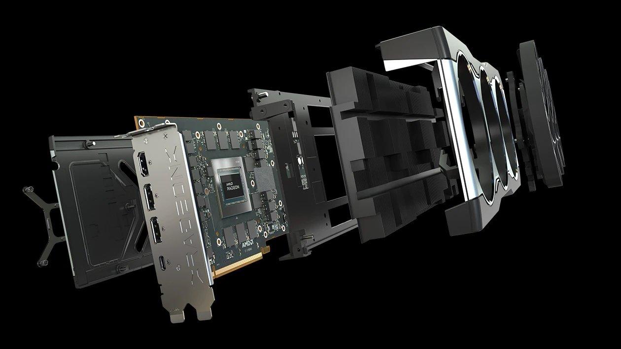 AMD Gráfica desmontada
