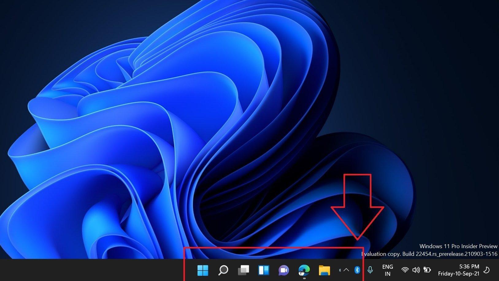 problema na barra de tarefas do Windows 11