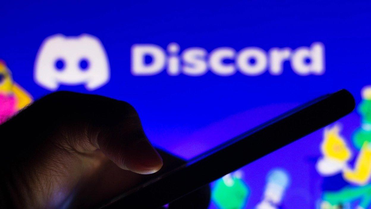 Discord em app de smartphone