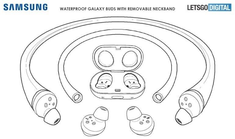 imagem da patente da Samsung