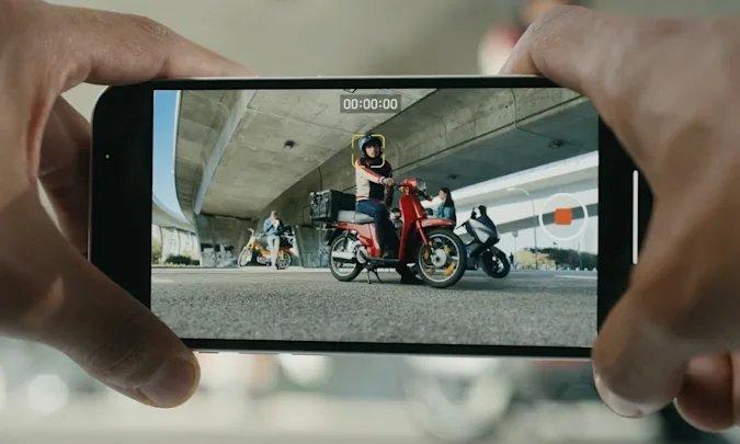 iPhone 13 modo cinematográfico