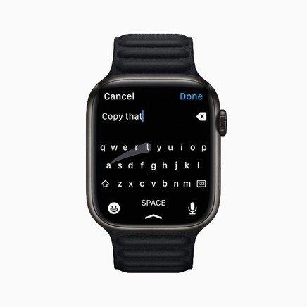 teclado do apple watch