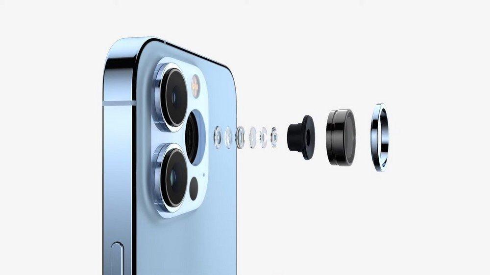 novas câmaras do iPhone 13 pro