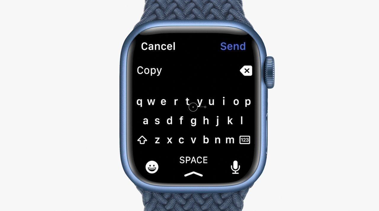 teclado no apple watch