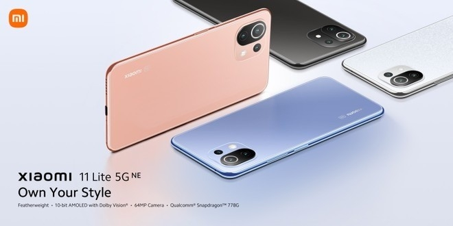 novo Xiaomi 11 Lite 5G NE