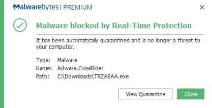 software de adware