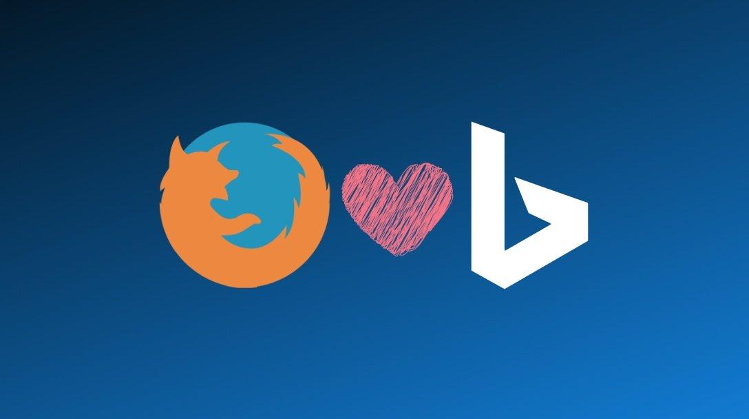 Firefox e Bing