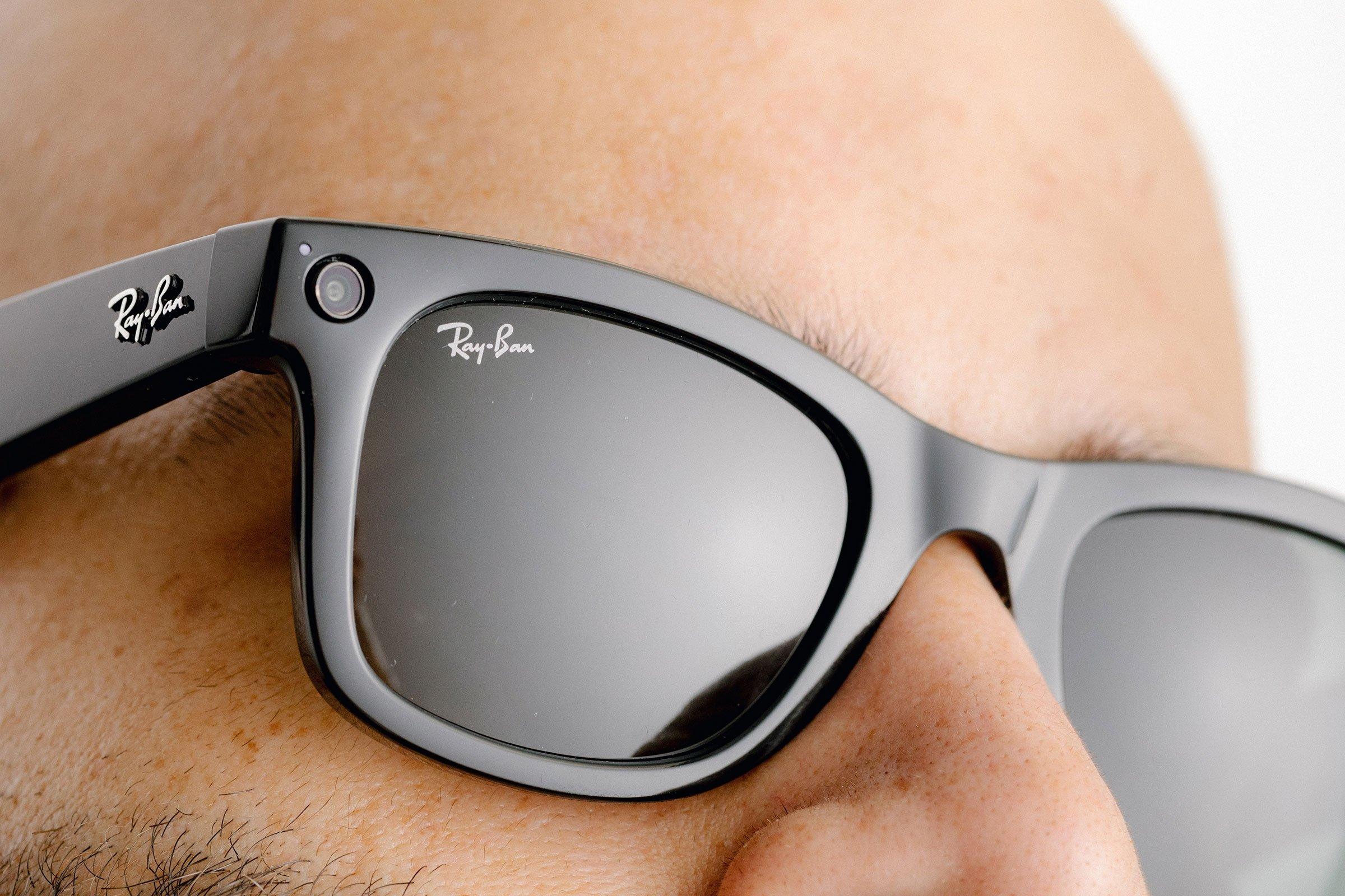 Facebook óculos inteligentes