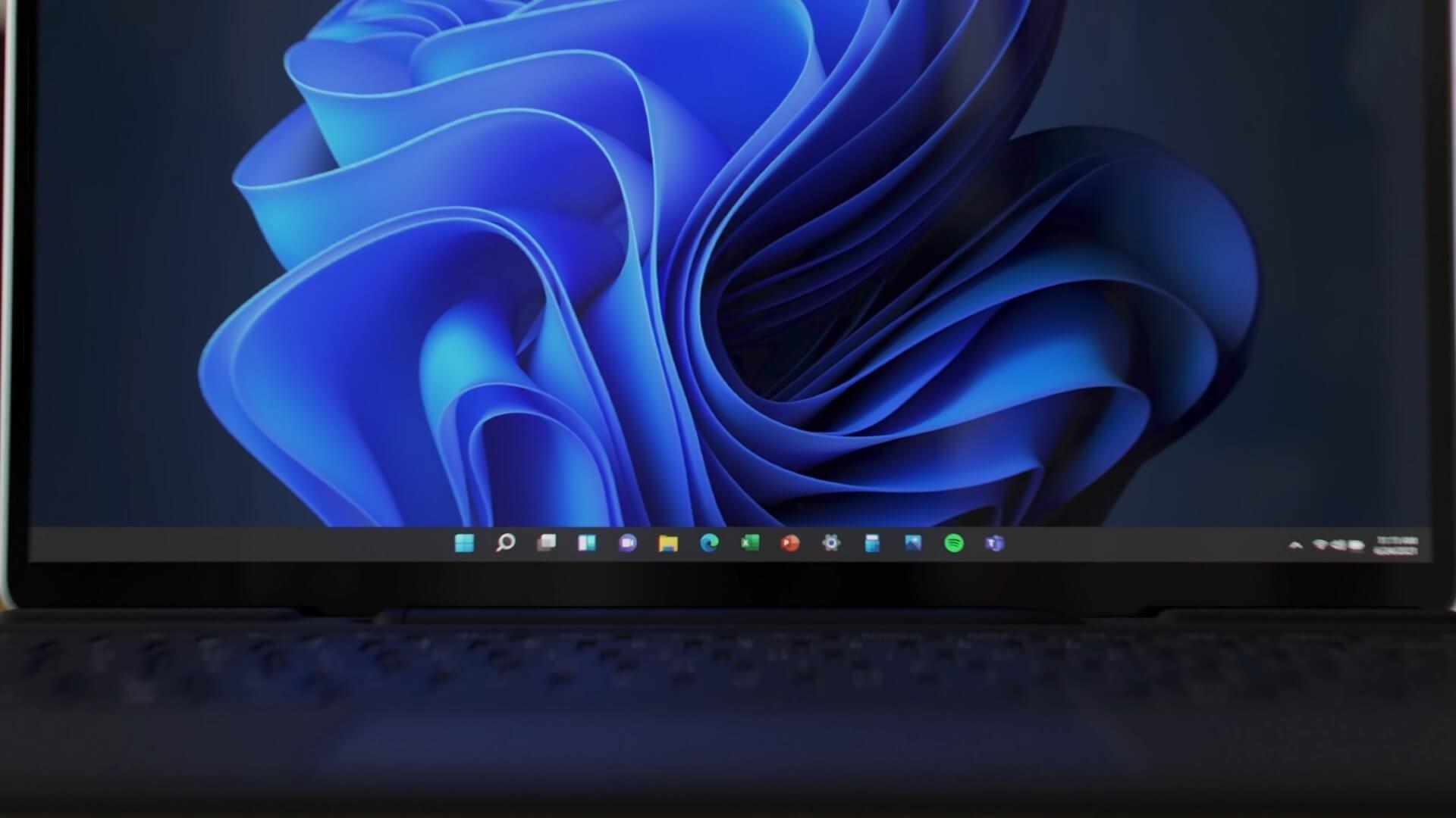 Windows 11 barra de tarefas