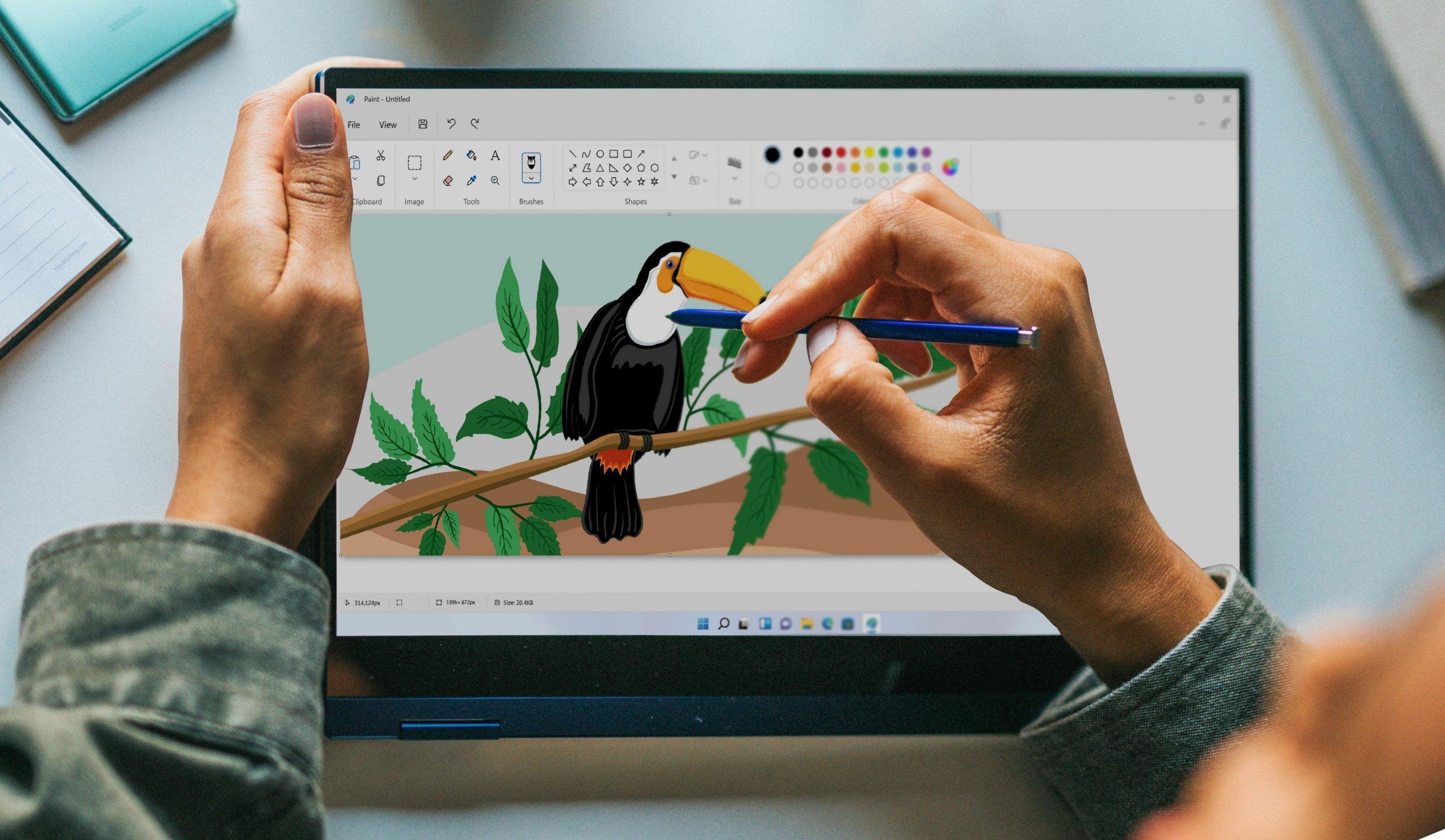 Paint do Windows 11
