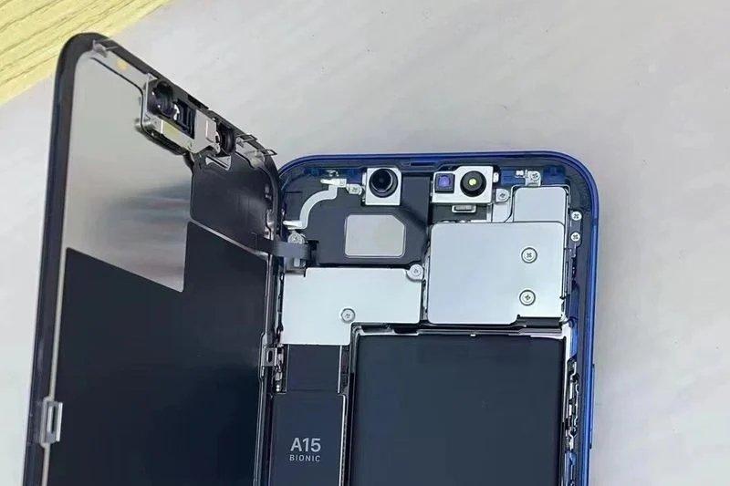 sistema da notch do iPhone 13