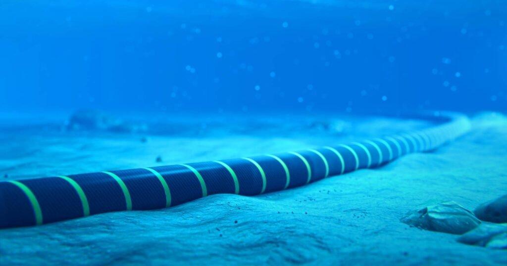 Cabo submarino da Google