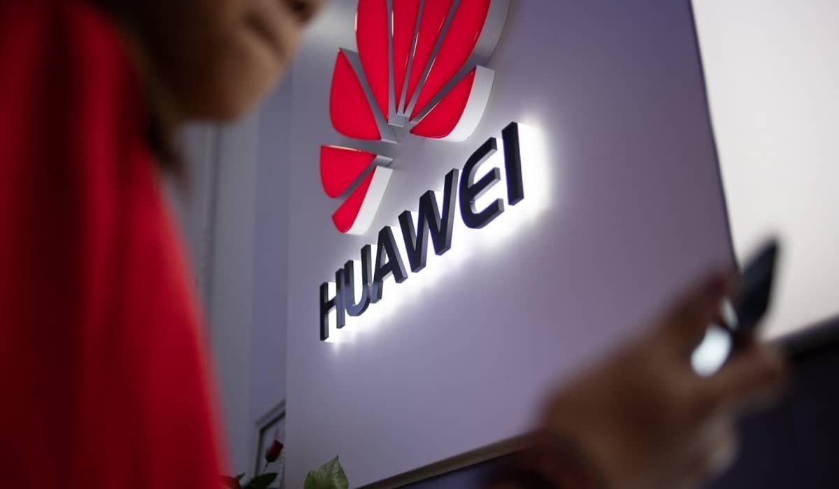 Huawei logo da empresa