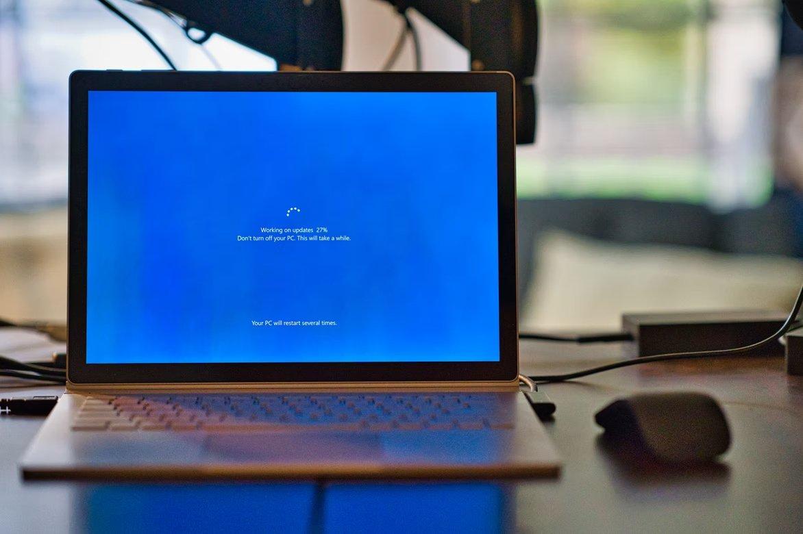 Windows 10 a atualizar