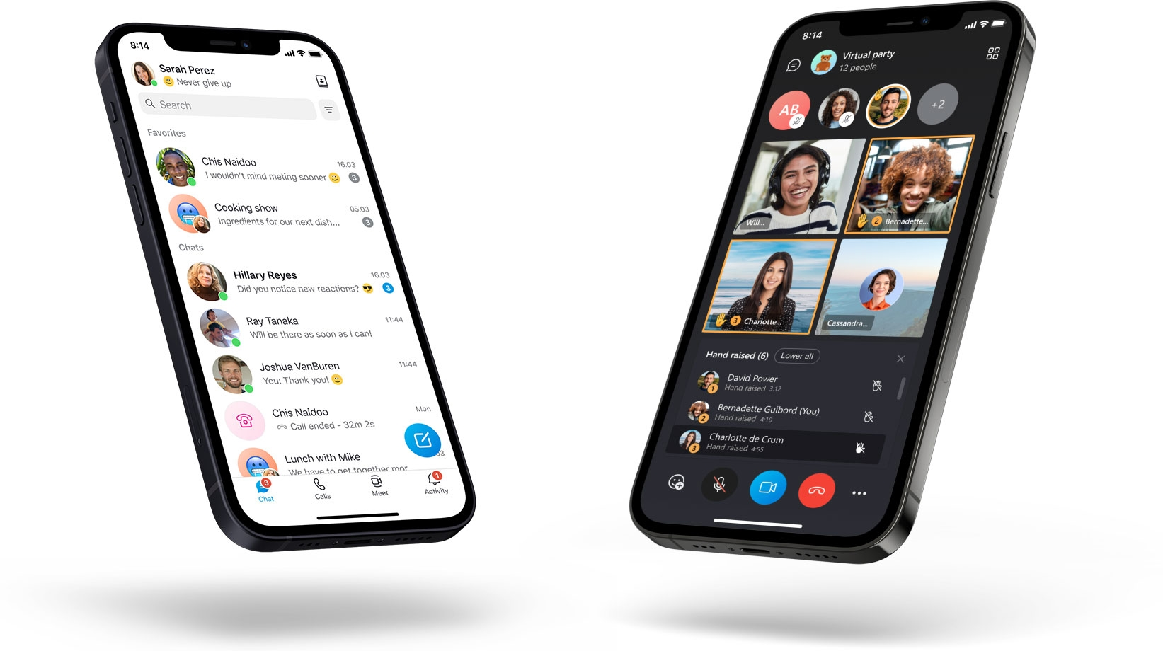 Skype em smartphones