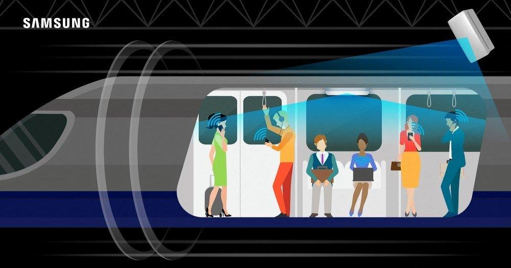 teste da samsung no metro