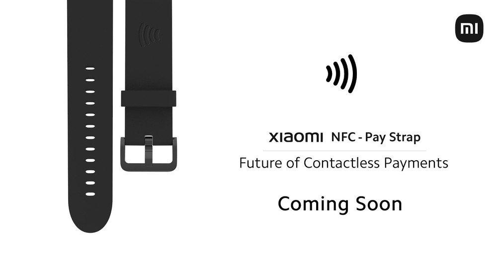 nova pulseira da xiaomi para pagamentos NFC