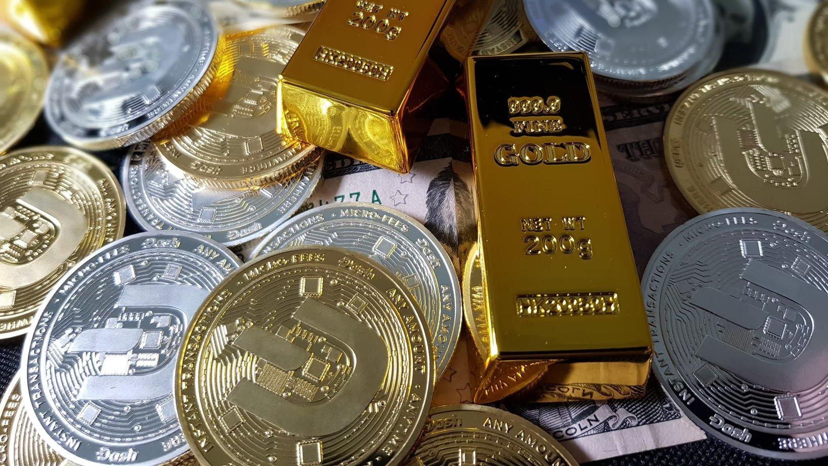 Criptomoedas e ouro