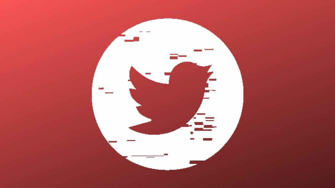 Twitter vermelho