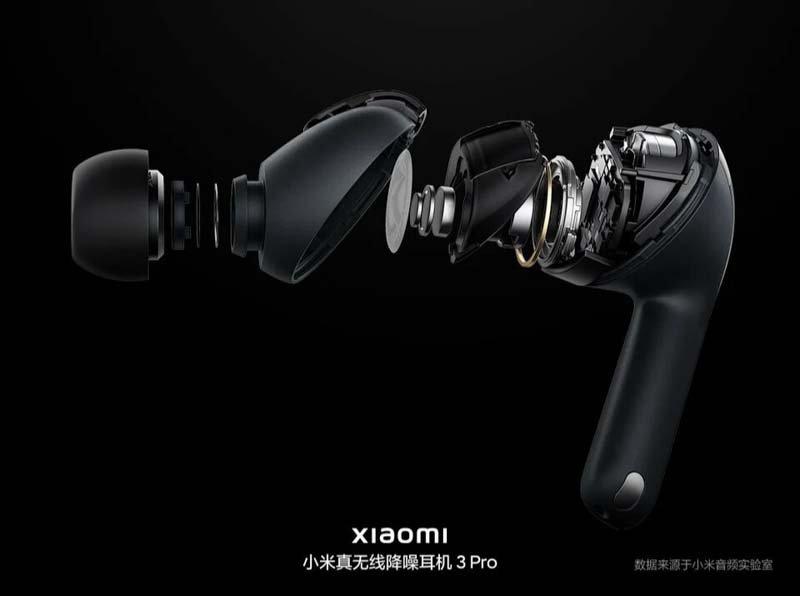 Xiaomi Headphones 3 Pro interior